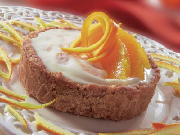 Рецепт творожного торта с апельсинами