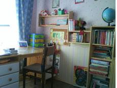 учебная зона в детской