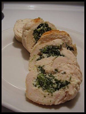Куриное филе, запеченное с зеленью