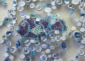 Фрагмент ожерелья из коллекции Animal World от Chopard
