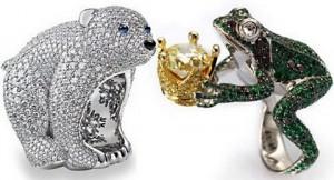 Кольца из коллекции Animal World от Chopard
