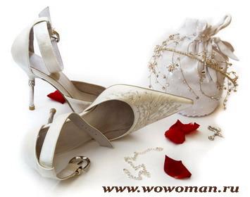 Выбираем обувь для невесты