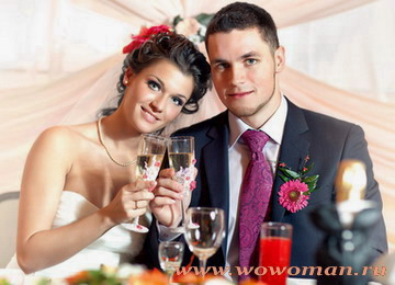 Что подать на свадебный стол